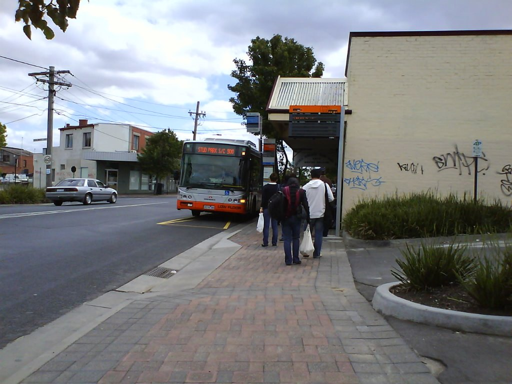 Huntingdale Road bus stop